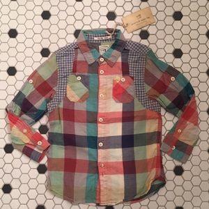 SCOTCH & SODA, SCOTCH SHRUNK 4T boy shirt plaid